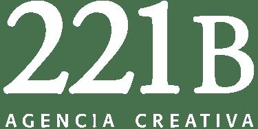 logo 221b-221bpublicidad-agencia-creativa-white